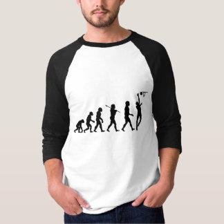 Camiseta La diversión de la evolución del baloncesto se