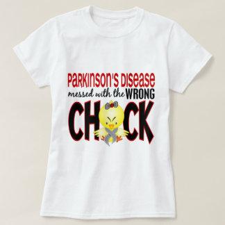 Camiseta La enfermedad de Parkinson ensuciada con el