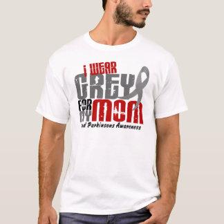 Camiseta La enfermedad de Parkinson LLEVO el GRIS PARA MI
