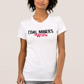 Camiseta La esposa del minero de carbón