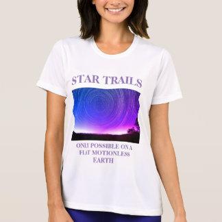 Camiseta La estrella arrastra Earther plano