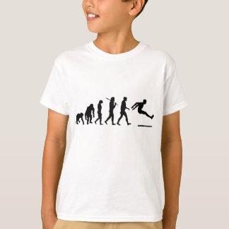 Camiseta La evolución de salto larga del puente largo