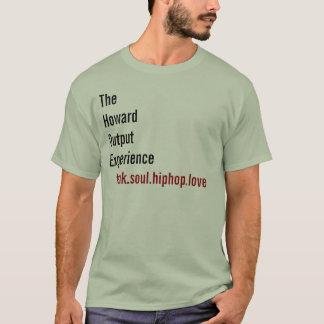 Camiseta La experiencia de la salida de Howard