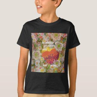 Camiseta La felicidad es llena de cosas desconocidas