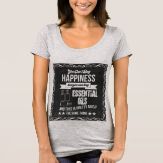 Camiseta ¡La felicidad está comprando aceites esenciales!
