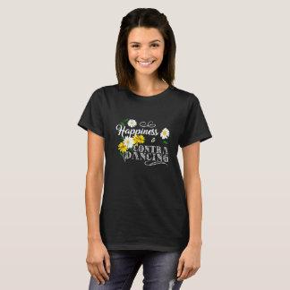 Camiseta La felicidad está contra el baile