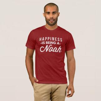 Camiseta La felicidad está siendo un Noah