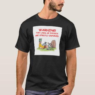 Camiseta la física