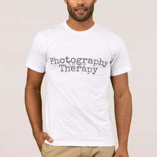 Camiseta La fotografía es mi terapia