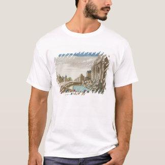 Camiseta La fuente del Trevi, Roma
