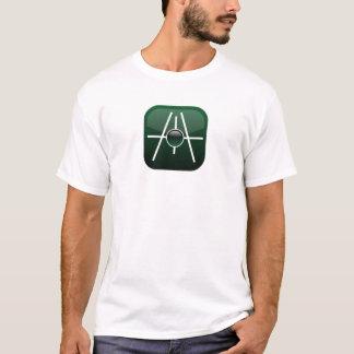Camiseta La gama corta de la manga alinea