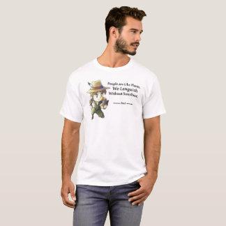 Camiseta La gente tiene gusto de las plantas masculinas