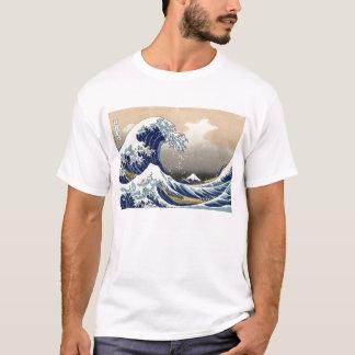 Camiseta La gran onda de Kanagawa
