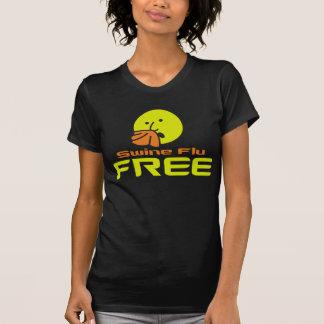 Camiseta La gripe de los cerdos libera