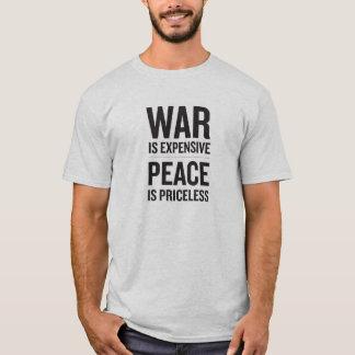Camiseta La guerra es costosa