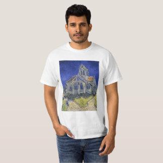 Camiseta La iglesia en Auvers de Vincent van Gogh