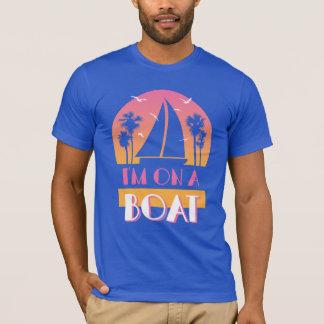Camiseta La isla sola - estoy en un barco