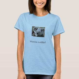 Camiseta ¿La koala, quiere abrazar?