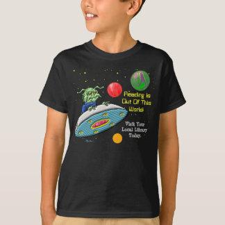 Camiseta La lectura está fuera de este mundo