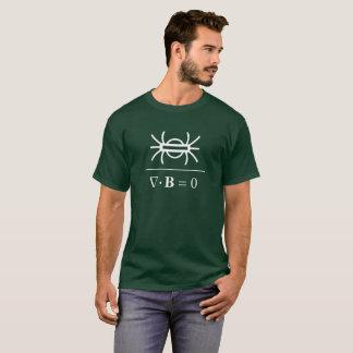 Camiseta La ley del gauss del magnetismo