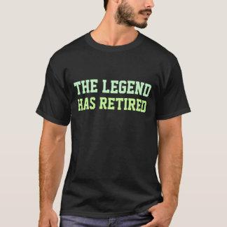 Camiseta La leyenda se ha retirado