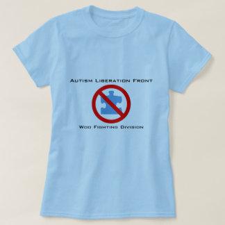 Camiseta La liberación del autismo corteja luchar
