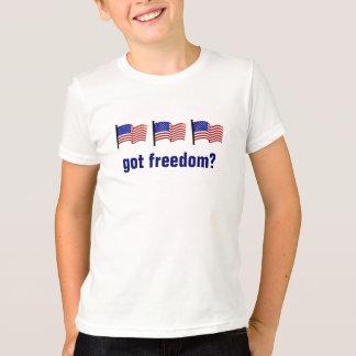 Camiseta La libertad conseguida agradece a un veterinario