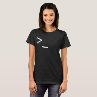 Camiseta La línea de comando mago