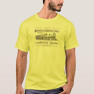 Camiseta La locomotora de vapor de los arroyos funciona