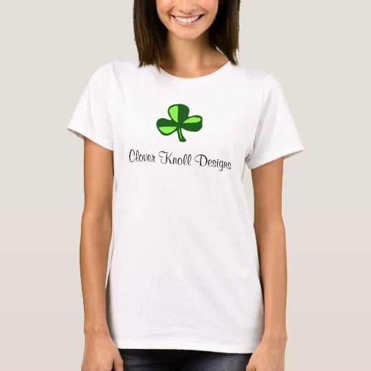 Camiseta La loma del trébol diseña el tanque de las señoras
