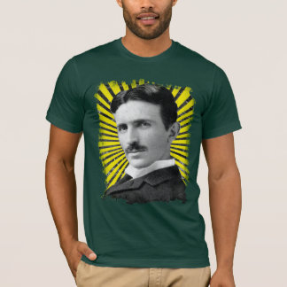 Camiseta La luz de Tesla