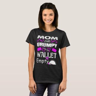 Camiseta La mamá consigue gruñona cuando su cartera es