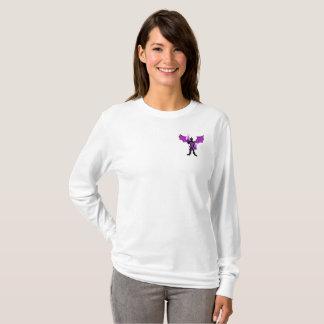 Camiseta La manga larga de las mujeres HEROICAS del dragón