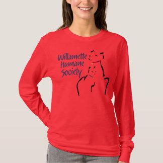 Camiseta La manga larga de las mujeres (ninguna etiqueta