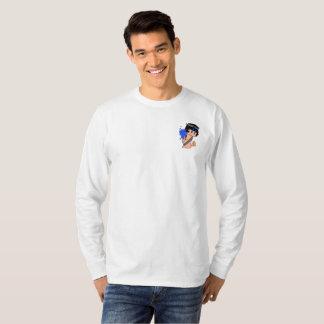 Camiseta La manga larga de los hombres HEROICOS de Mage de