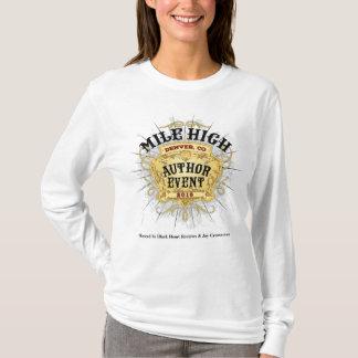 Camiseta La manga larga T de las altas del autor de la