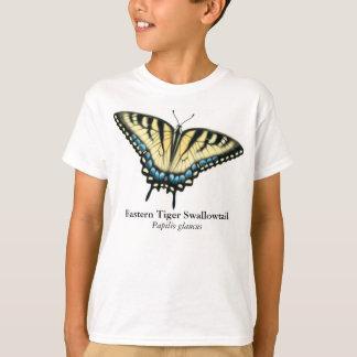 Camiseta La mariposa de Swallowtail del tigre embroma la