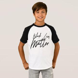 Camiseta La materia negra manuscrita de las vidas embroma