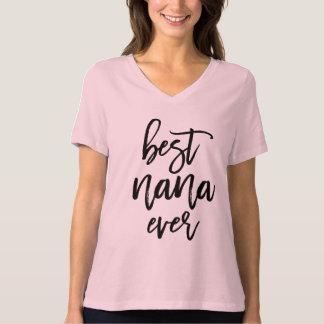 Camiseta La mejor escritura manuscrita siempre blanca de