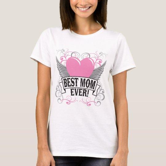 Camiseta La mejor mamá nunca