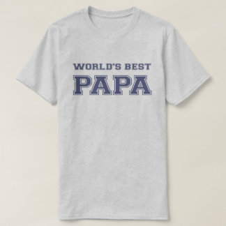 Camiseta La mejor papá del mundo