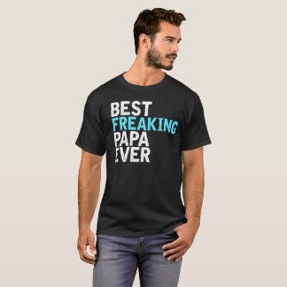 Camiseta La mejor papá Freaking nunca