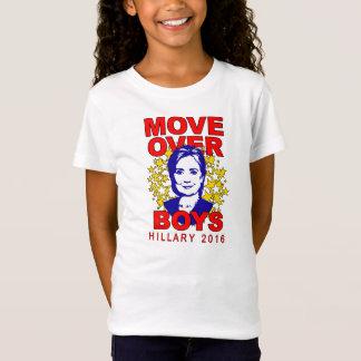 Camiseta La muñeca del chica de los muchachos de Hillary