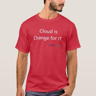 Camiseta La nube lo cambia