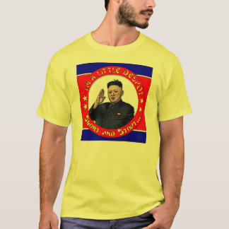 Camiseta La O.N.U de Kim Jong - soy un pequeños déspota,