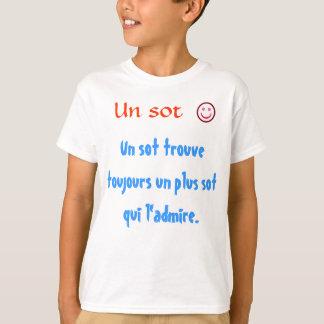 Camiseta La O.N.U de los toujours del trouve del borrachín