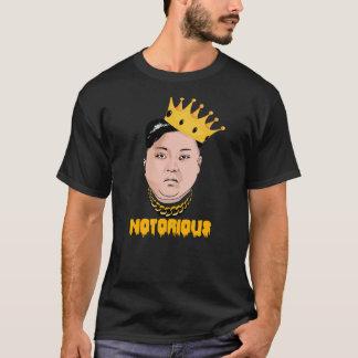 Camiseta LA O.N.U NOTORIA DE JONG DE KIM -- Oro -