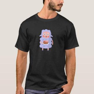 Camiseta La oveja con el fiesta atribuye S enrrollado