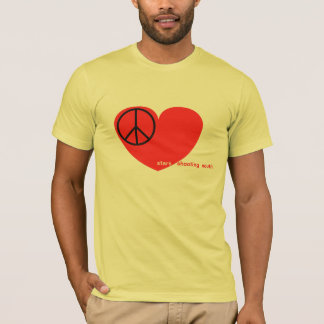 Camiseta La paz, amor, protagoniza el sur del tiroteo