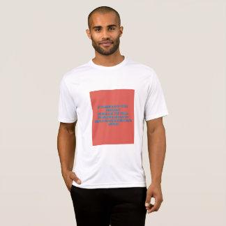 Camiseta La paz de mundo es cada una esfuerzo